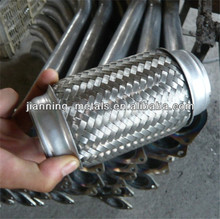 stainless steel hand knitting muffler for car