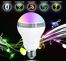 E26 Bluetooth Smart LED Light Bulbs APP Group Controlled Dimmable Color Changing Decorative Christmas Party Lighting