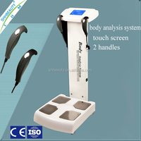 High-tech body fat composition analysis machine / body analyzer with medical CE