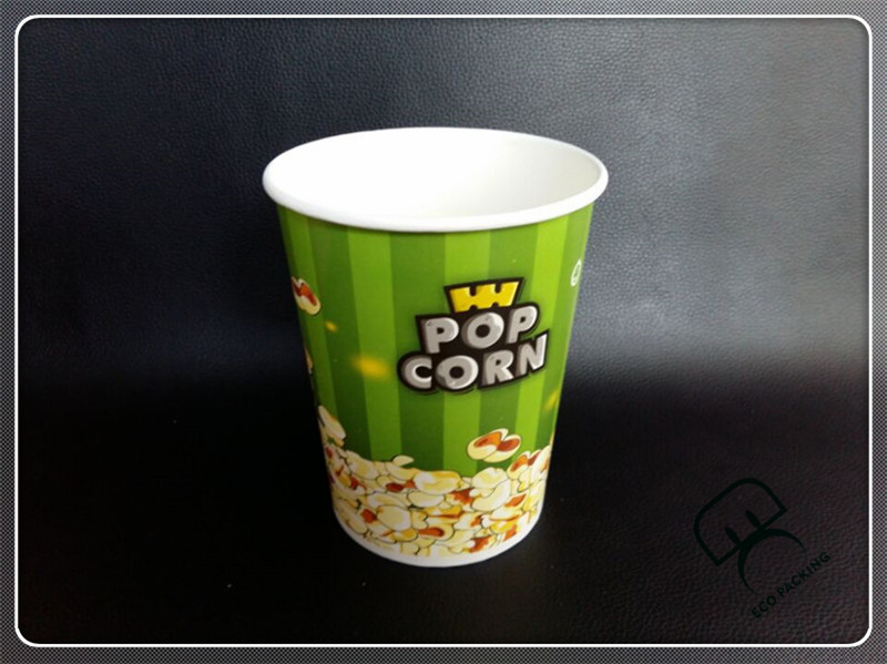 Big paper bowel family bucket meal popcorn box paper fried chicken bucket