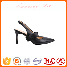 Cheap price high heel sling back sandals pictures girls latest pointed-toe sandals