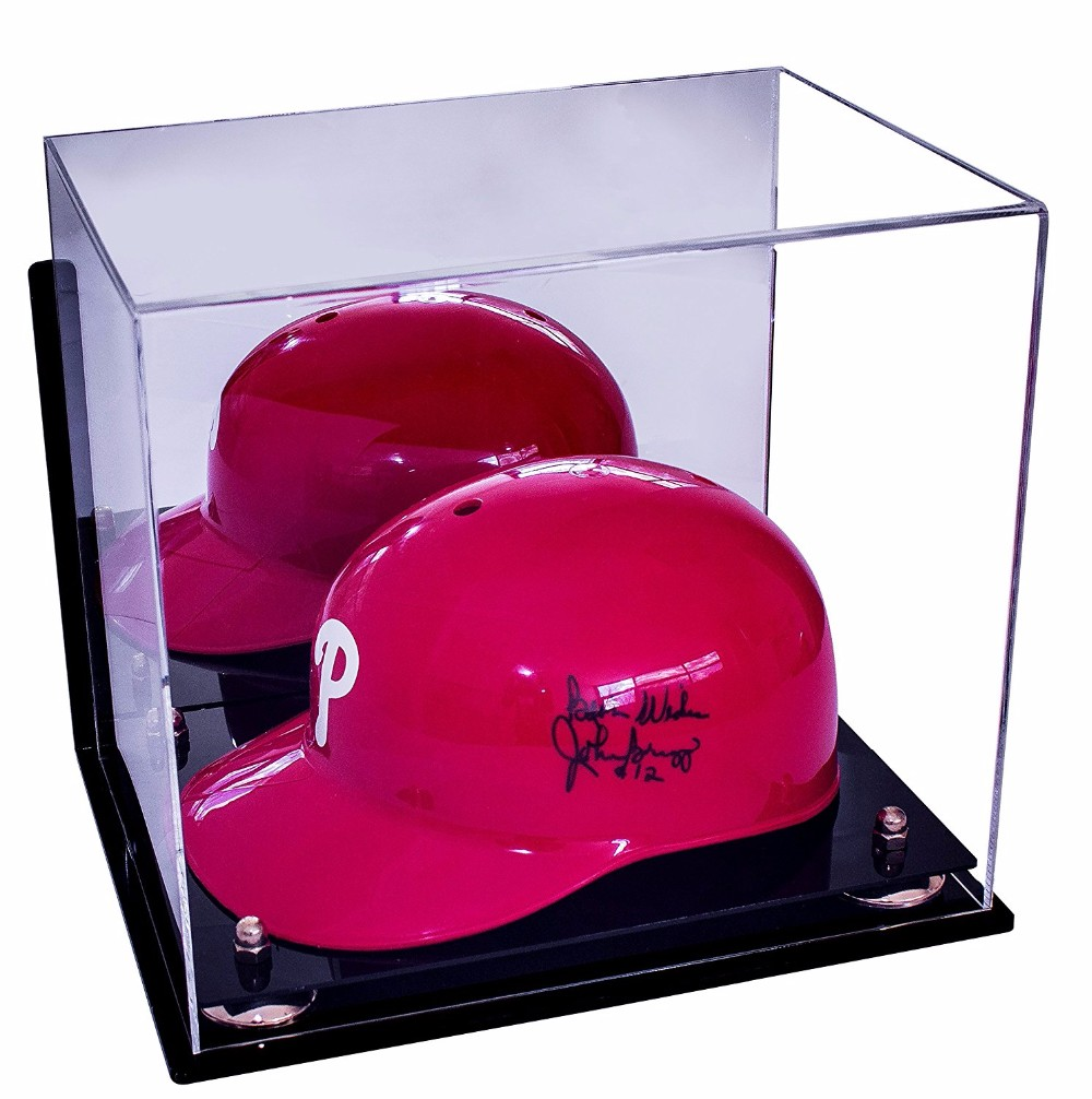 Clear Helmet Display Case / Deluxe Acrylic Case In Wholesale