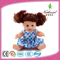 Children's cheap 30cm american chinese child love girl soft dolls for sale