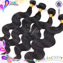 Different types virgin Malaysian human hair loose wave hair extensions best selling and factory price