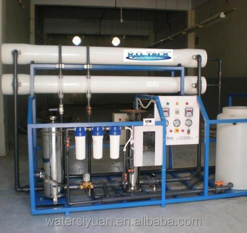 Factory price ro sea water treatment system/ ro seawater desalination plant/reverse osmosis water desalination machine