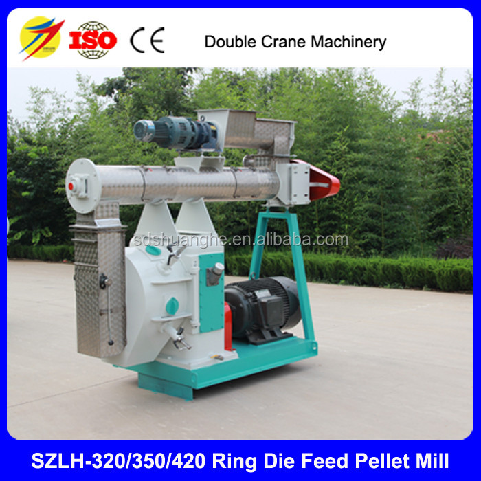 SZLH-350 Top brand 5t/h cattle feed pellet mill machine prices