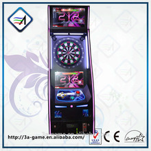 Arcade Coin Operated Darts Machine Electronic With PVC dartboard and Soft Tip Electronic Dart