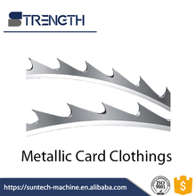 STRENGTH Steel Doffer Wire Metallic Card Clothing