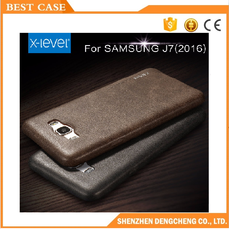 Most Popular x-level vintage leather case for samsung J7 2016