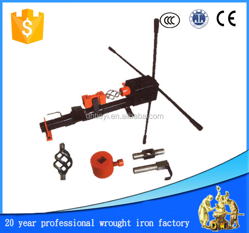 manual wrought iron machine