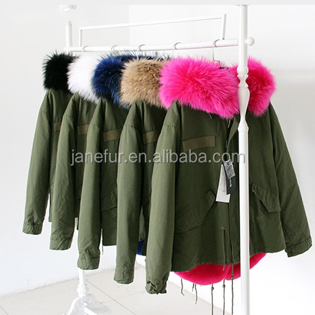 2016 Fashionable Winter Jacket /Ladies Fur coat Linked Fur Hood Inside/ Fine Handmade Parka