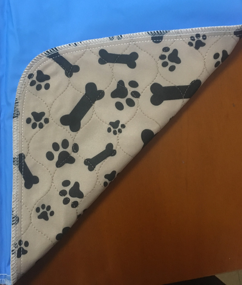 Reusable Washable Dog Pee Pad / Pet Training Mat / Puppy Pee Pads For Dogs