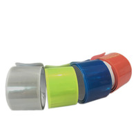 Low Cost Sports Reflective Slap Bracelets