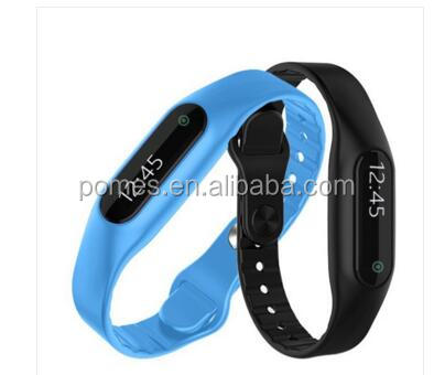 E06 Smart Bracelet Touch OLED Screen 2016 new Fitness Tracker