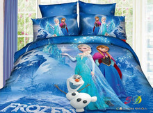 40S*40S 250TC Printed Frozen 100% Bamboo Bed Sheet
