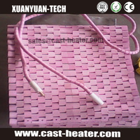 ceramic flexible pad heater radiation heating pad