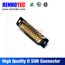 12+13 25pin DB male D-sub connector