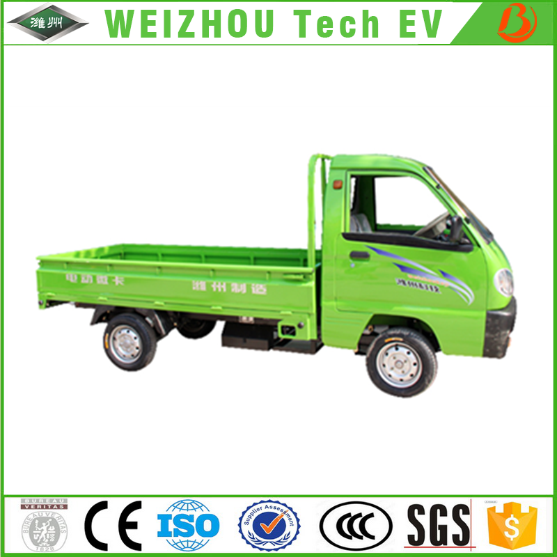 High Quality Chinese Electric Pickup Truck Cargo for Sale with Different Electrocar Model