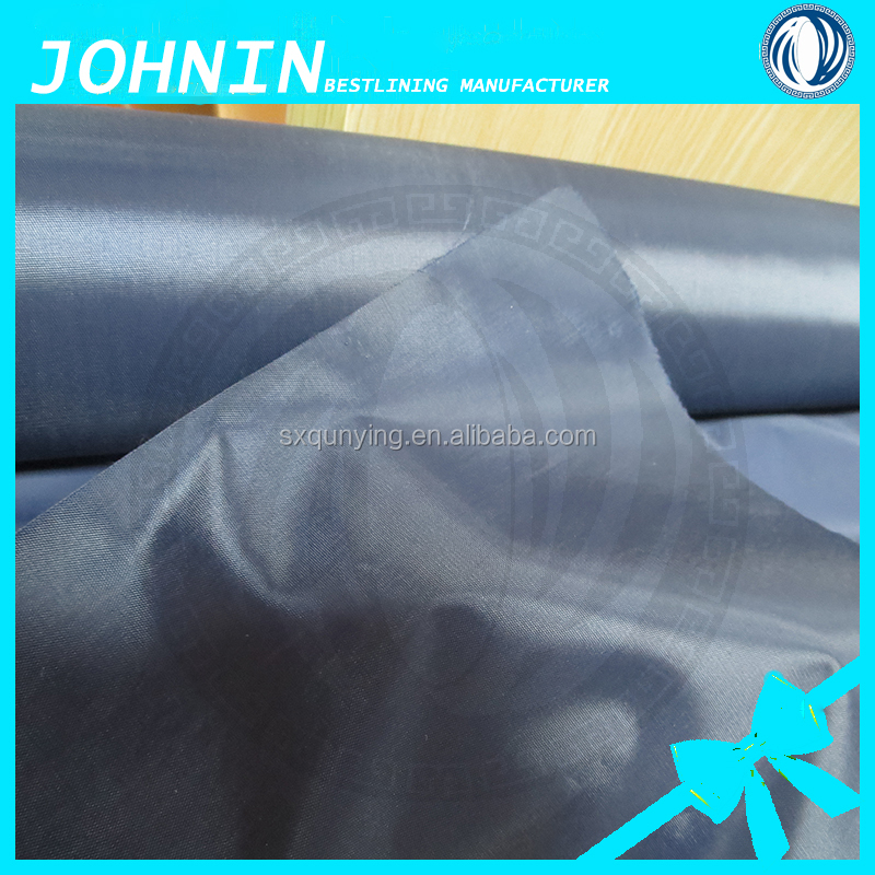 woven textile 170T polyester taffeta PVC coated fabric thin waterproof polyester fabric in shaoxing fabrics textile supplier