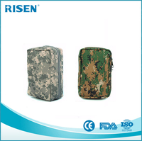 Disaster Emergency Kit / first aid pouch /camouflage Military Survival Kit