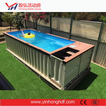 Sandwich Panel Container Swimming Pool House