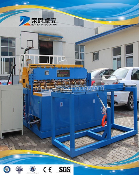 Fully automatic CNC steel wire fence mesh making machine