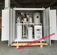 enclosure house type Vacuum Lube Oil Purification System ,Hydraulic Oil Filtration Plant , Used Oil Recycling