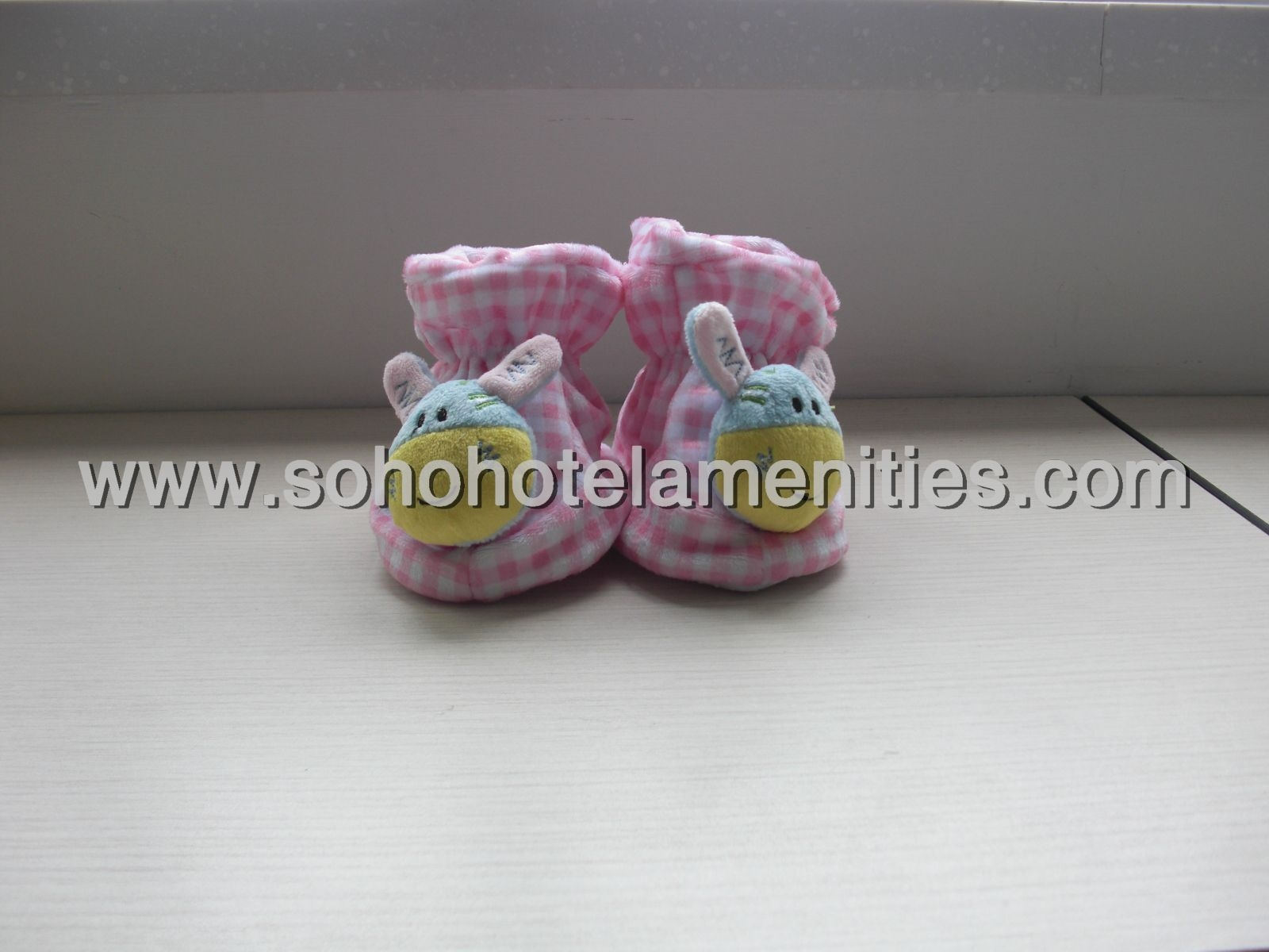 Kids slippers baby boy or girl boot cute rubbit shoes