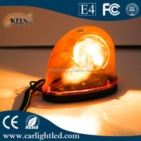 15W Motorcycle LED Halogen Bulb Used Police Flashing Light Warning Amber Flashing Lights 12V-24V Beacon