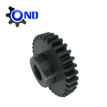 C45 steel pinion gear with teeth harden