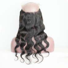 2017 hot selling Grade 8A brazilian body wave 360 lace frontal with bundles