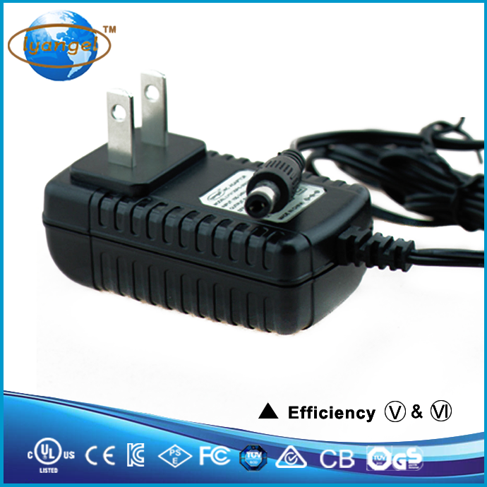 Energy efficiency 6 5V1A adapter with UL listed 5V 1A power supply
