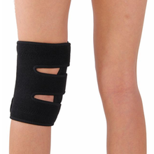 hot new products for 2017 safety gadgets open patella black knee support, knee brace adjustable hinged
