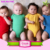 Short Sleeves full bodysuit Wholesale Funny Baby Clothes red white striped christmas jumpsuit Baby Romper