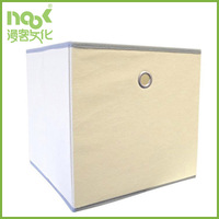 non woven Fabric Bin storage box with eyelet