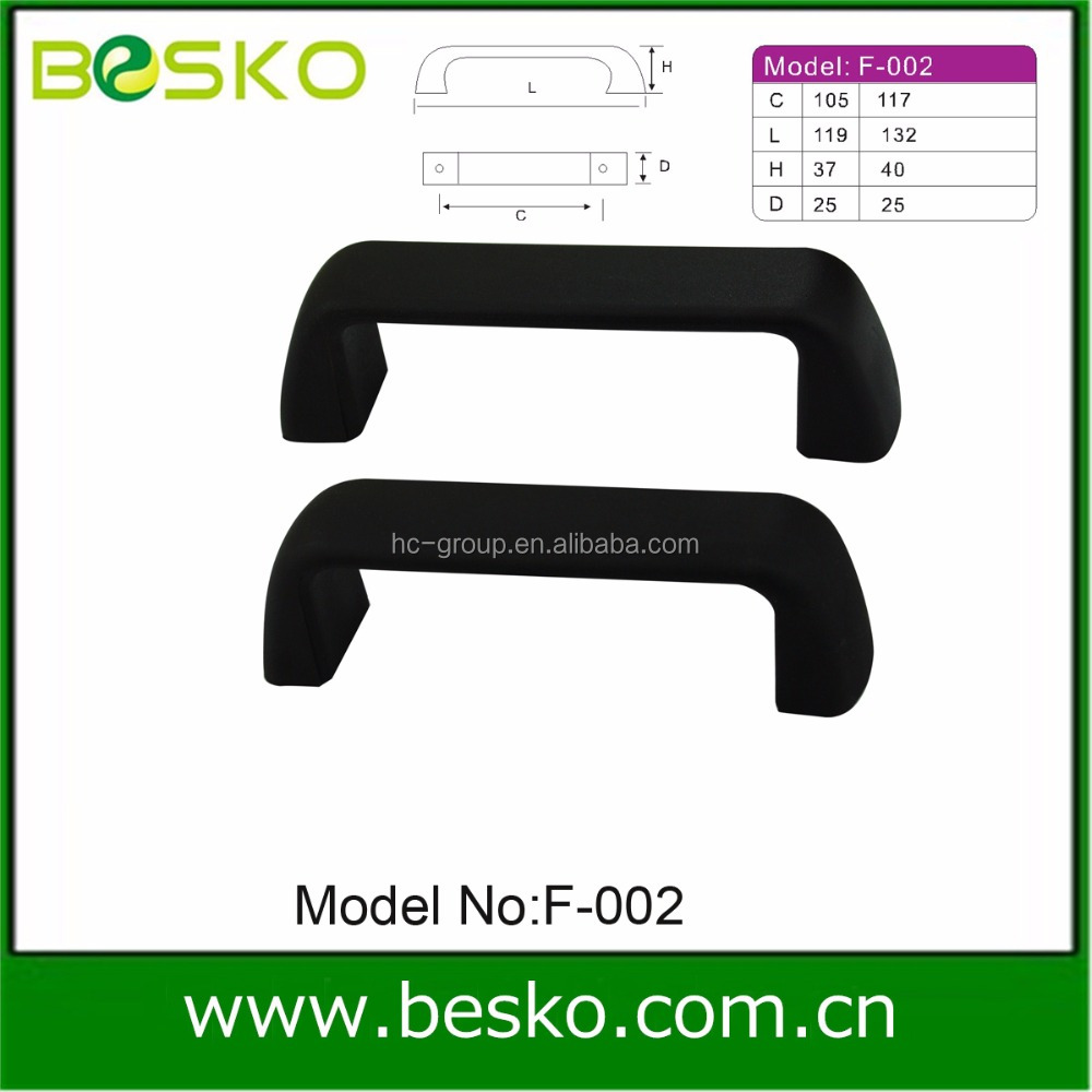 Black or white plastic handle/luggage /suitcase handle factory