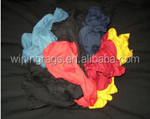 Colored T-shirt textile cotton waste rags with cheap price