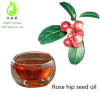 Cold Pressed Organic Rose hip seed oil for skin whitening or moisture