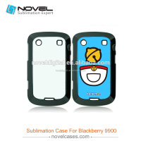 High quality 2D Sublimation Mobile Phone Case For Black Berry 9900