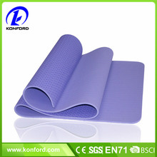 "Yoga Mat 1/4"" 6mm Thick Premium 100% TPE Material Non Slip Eco-Friendly Fitness"