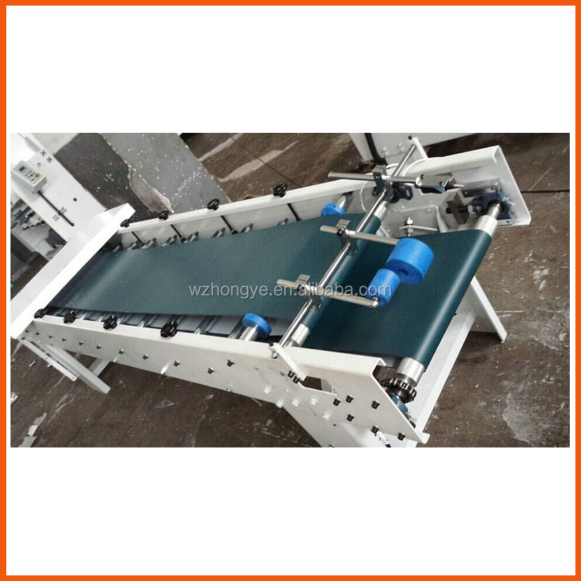 ZH-880 Pre-Folding Type Paper Box Pasting machine