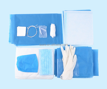 Disposable sterile clean surgical delivery kit/pack