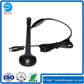 174 230 470 860MHz 3DB Passive Black Magnetic Base Indoor HDTV Aerial TV Antenna