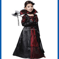 2016 Halloween cosplay costume queen dress, The evil emperor queen's clothes girl halloween boutique outfit for Halloween party