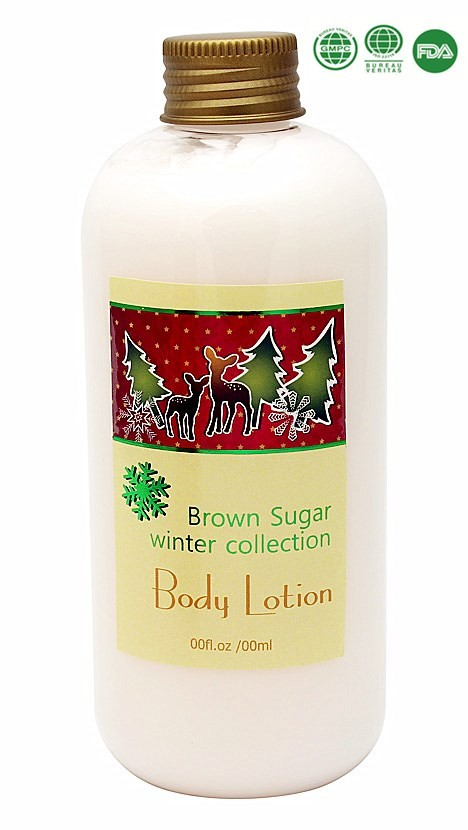 Nourishing body lotion beauty and personal care bath gift set for Christmas