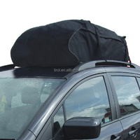 T20656 Water Resistant Roof Bag 15 Cubic Feet Roof Top Cargo Carrier for vehicles with roof rails SUV Van Cargo Box