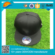 Custom Sticker Adjustable Snap Back Hat