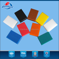 Factory directly sale black hdpe sheet with large stock and quick delivery