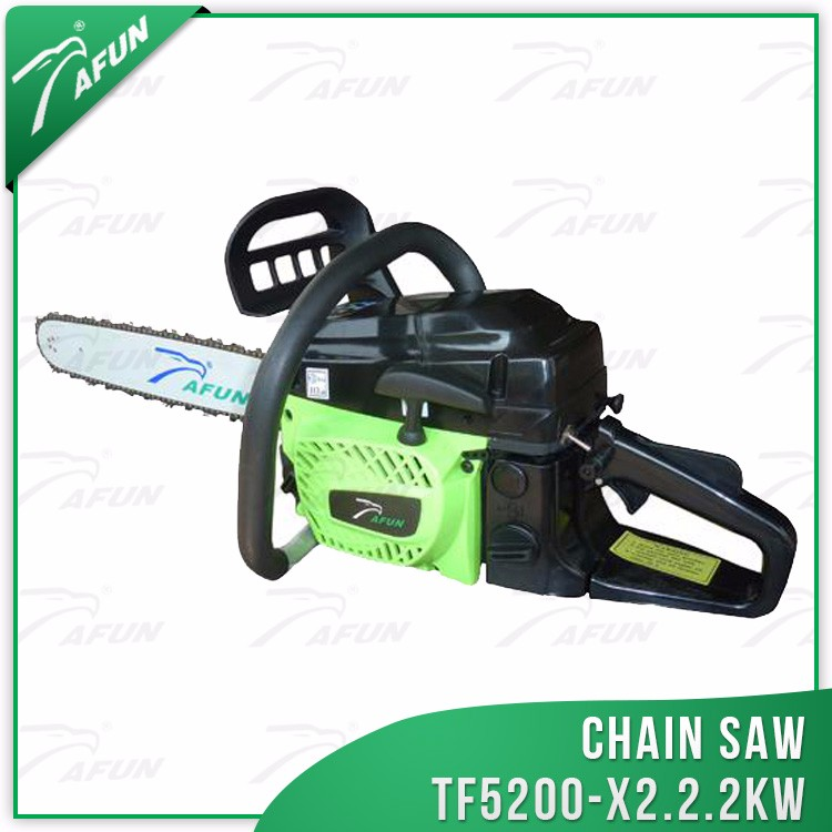 high quality hot sale log wood cutting machine 52cc oil saw