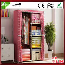 Small Assemble Fabric Portable Folding Foldable Cloth Wardrobes